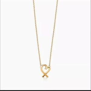 Tiffany 18k gold chain only
